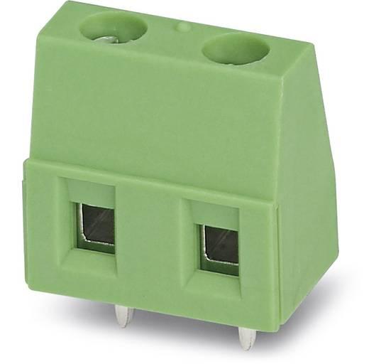 Klemschroefblok 1.50 mm² Aantal polen 2 GMKDS 1,5/ 2-7,62 Phoenix Contact Groen 250 stuks