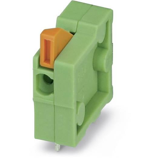 Veerkachtklemblok 0.50 mm² Aantal polen 1 FFKDSA1 / H 5,08 Phoenix Contact Groen 250 stuks