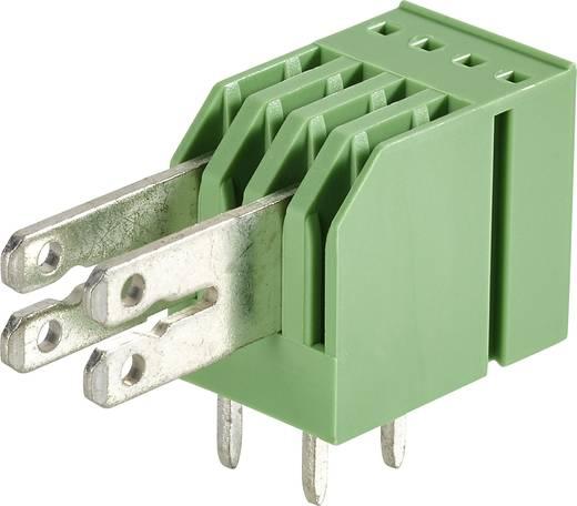 Phoenix Contact 1760213 Kabelschoen-splitter Insteekbreedte: 6.3 mm Insteekdikte: 0.8 mm 90 ° Deels geïsoleerd Groen 50