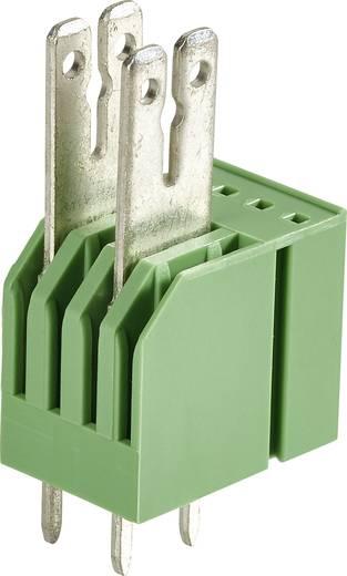 Phoenix Contact 1761335 Kabelschoen-splitter Insteekbreedte: 6.3 mm Insteekdikte: 0.8 mm 180 ° Deels geïsoleerd Groen 5