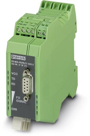 Phoenix Contact PSI-MOS PROFIB / FO1300 E Glasvezelconverter Glasvezelconverter