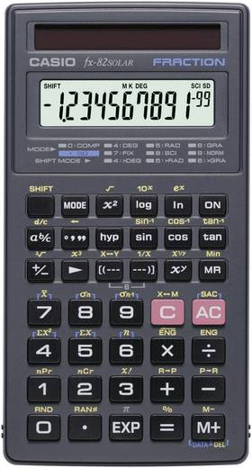 Casio rekenmachine FX 82 Solar Casio FX-82 Solar Zwart