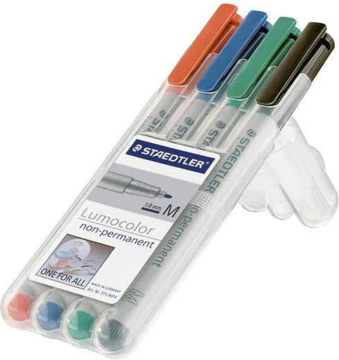 Universele stift Lumocolor, M, set van 4