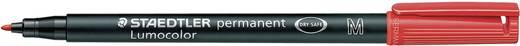 Staedtler 317-2 Permanent marker Lumocolor Rood Ronde vorm 1 mm (max) 1 stuks