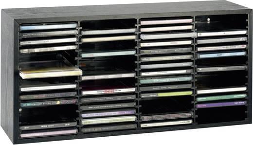Beco houten cd rek voor 60 cd 39 s - Wereld thuis cd rek ...