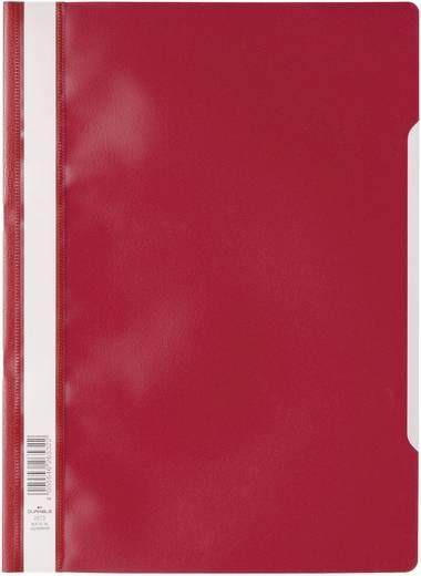 Transparante ordner DIN A4, rood