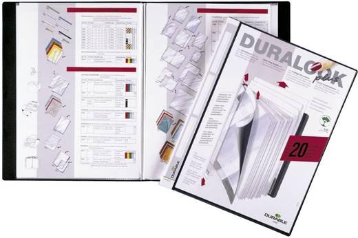 Kijkboek met 20 transparante hoezen en zak in voorkaft