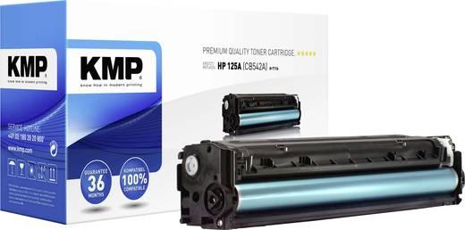 KMP Tonercassette vervangt HP 125A, CB542A Compatibel Geel 1400 bladzijden H-T116