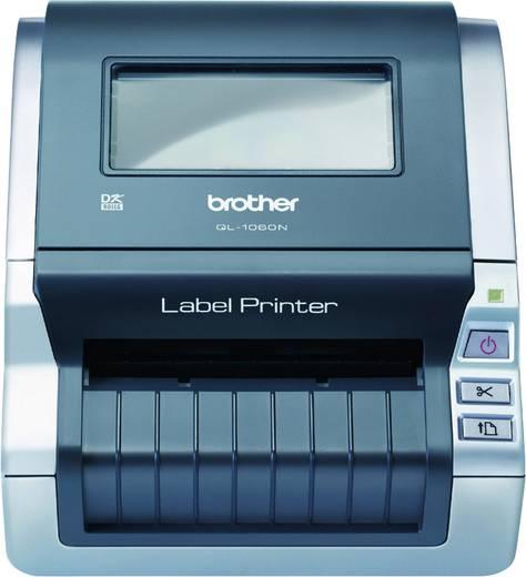 Brother QL-1060N Labelprinter Thermisch 300 x 300 dpi Etikettenbreedte (max.): 102 mm USB, LAN
