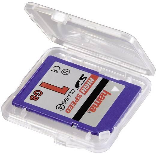 Hama 00095949 Geheugenkaart-cover SDHC-kaart, SD-kaart, SDXC-kaart Transparant