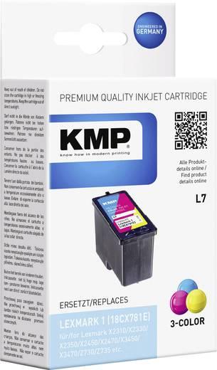 KMP Inkt vervangt Lexmark 1 Compatibel Cyaan, Magenta, Geel L7 1930,4030