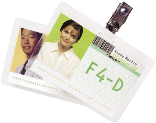 GBC 100 GBC POUCH BUS.CARD 125MIC lamineerfolie 90 x 60 mm, Visitekaart 100 stuks