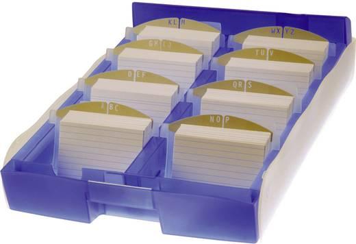 Visitekaartenbox Croco Duo A8