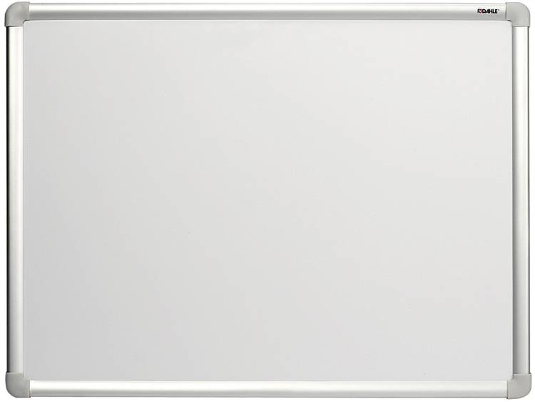 Dahle Whiteboard Basic Board 96150 (b x h) 60 cm x 45 cm Wit gelakt Horizontaal- of verticaalformaat, Incl. opbergbakje