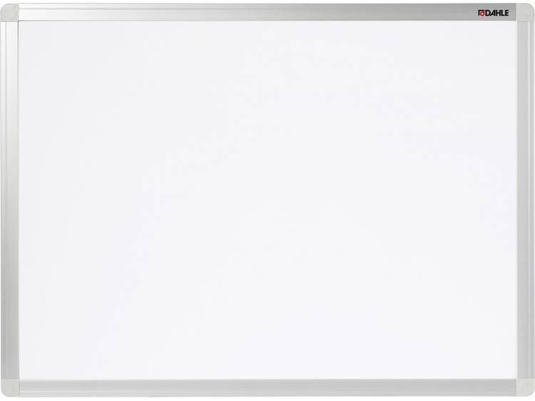 Dahle Whiteboard Basic Board 96151 (b x h) 90 cm x 60 cm Wit Horizontaal- of verticaalformaat, Incl. opbergbakje