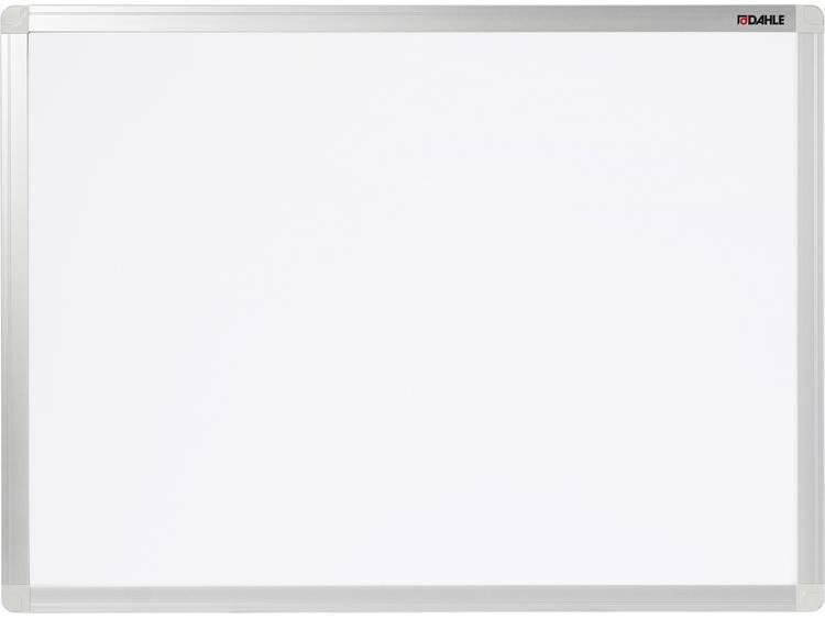 Dahle Whiteboard Basic Board 96152 (b x h) 120 cm x 90 cm Wit Horizontaal- of verticaalformaat, Incl. opbergbakje