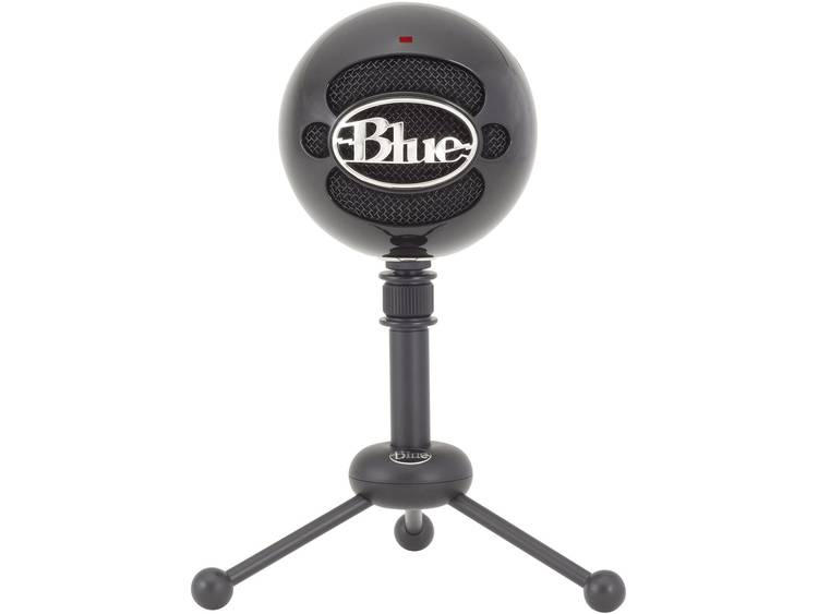 PC-microfoon Blue Microphones Snowball Zwart Kabelgebonden Incl. kabel, Incl. standaard