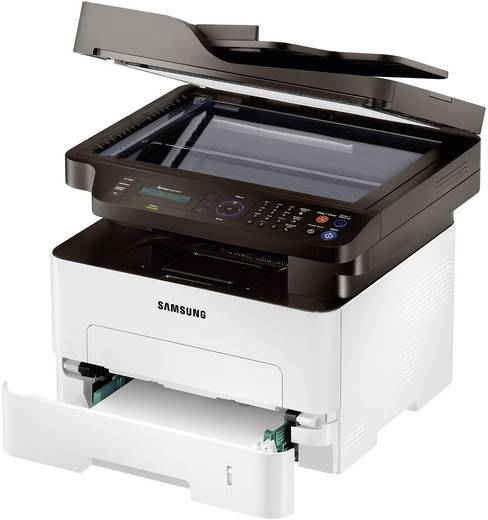 Samsung Xpress M2675FN Multifunctionele laserprinter A4 Printen, Scannen, Kopiëren, Faxen LAN, ADF