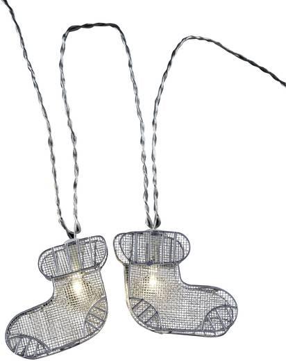 Motief lichtketting Sokken Binnen werkt op het lichtnet