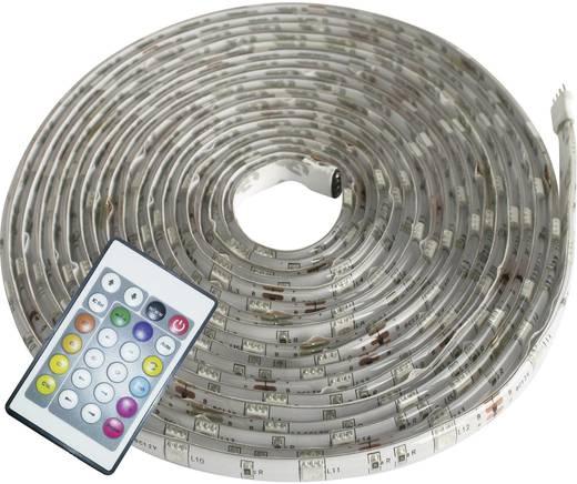Müller Licht LED Strip Farbwechsel Digital LED-strips compleet met netvoeding,afstandbediening en hoekstukken RGB 500 cm