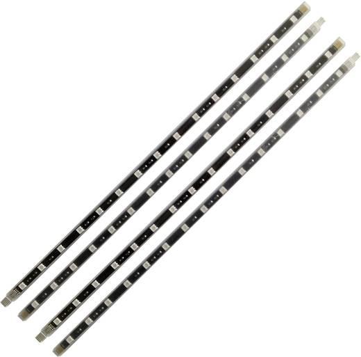 LED-balk complete set Zwartlicht met stekker 12 V 160 cm Müller Licht LED-staven blacklight 57018