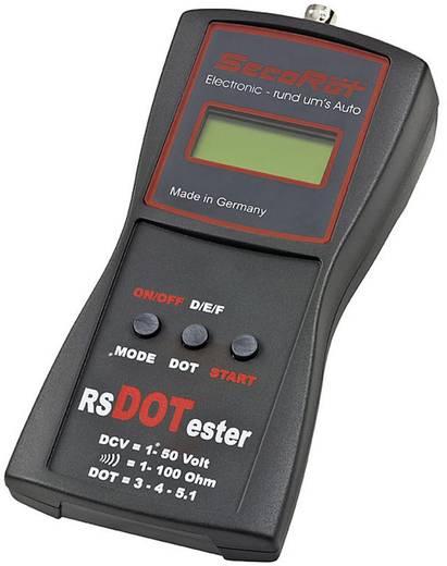 SecoRüt Remvloeistoftester RSDOT Geschikt voor Remvloeistof DOT 3,DOT 4 en DOT 5,1
