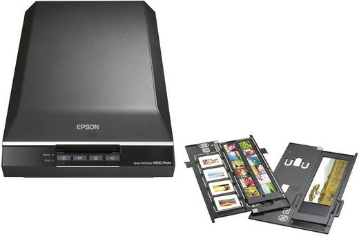 Epson Perfection V600 Photo Flatbed-scanner A4 6400 x 9600 dpi USB Document, Foto, Dia, Negatief