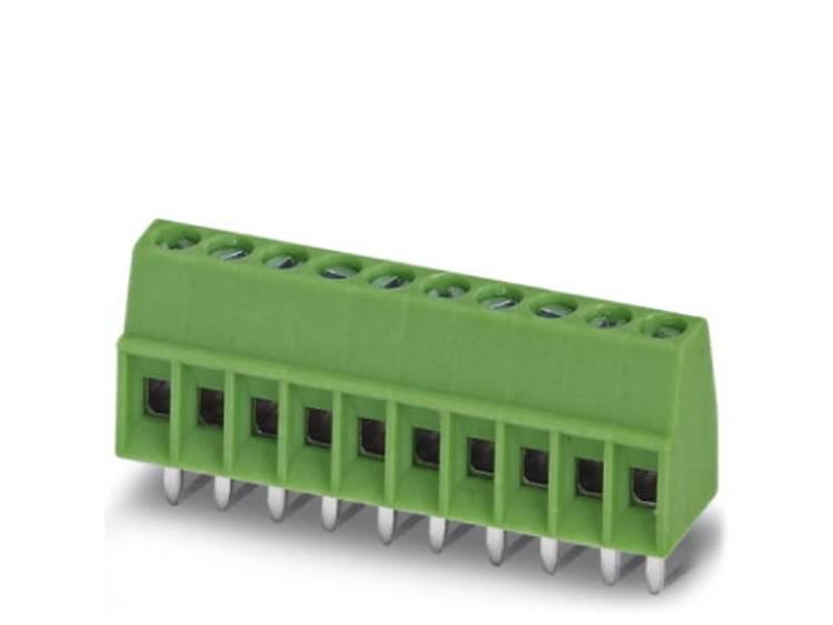 Phoenix Contact MPT 0,5/ 2-2,54 Klemschroefblok 0.50 mm² Aantal polen 2 Groen 250 stuks