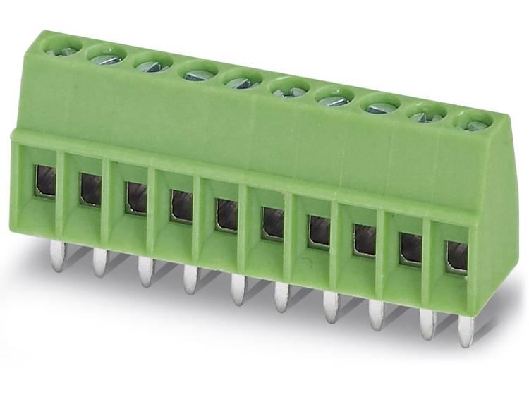 Phoenix Contact MPT 0,5/ 6-2,54 Klemschroefblok 0.50 mm² Aantal polen 6 Groen 100 stuks