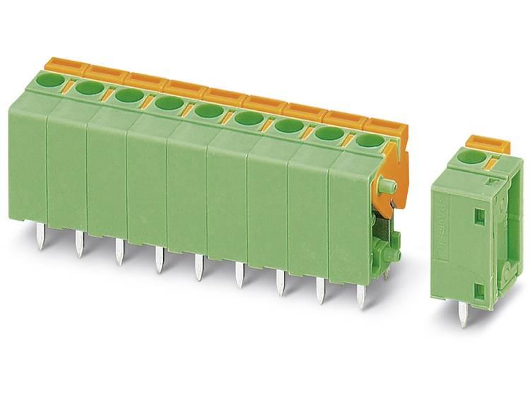 Phoenix Contact FFKDSA1/V1-5,08- 3 Veerkachtklemblok 1.50 mm² Aantal polen 3 Groen 50 stuks