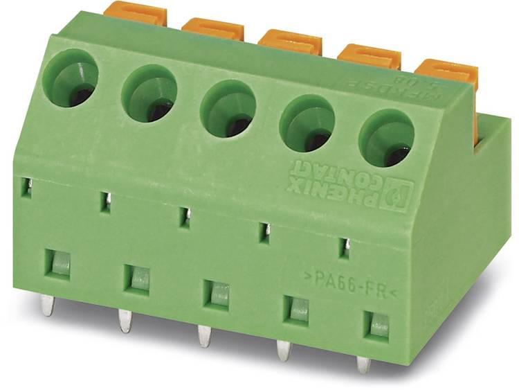 Phoenix Contact MFKDSP/ 4-5,08 Veerkachtklemblok 1.00 mm² Aantal polen 4 Groen 50 stuks