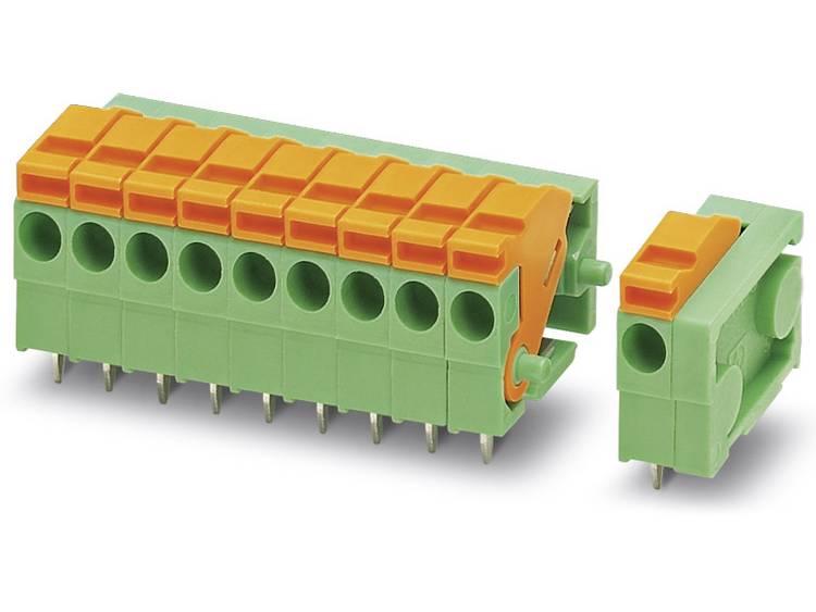 Phoenix Contact FFKDSA1/H-3,81- 7 Veerkachtklemblok 1.00 mm² Aantal polen 7 Groen 50 stuks