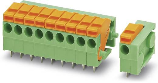 Veerkachtklemblok 0.50 mm² Aantal polen 2 ZFKDSA 1,5C-5,0- 2 KR2,5VPE500 Phoenix Contact Groen 500 stuks