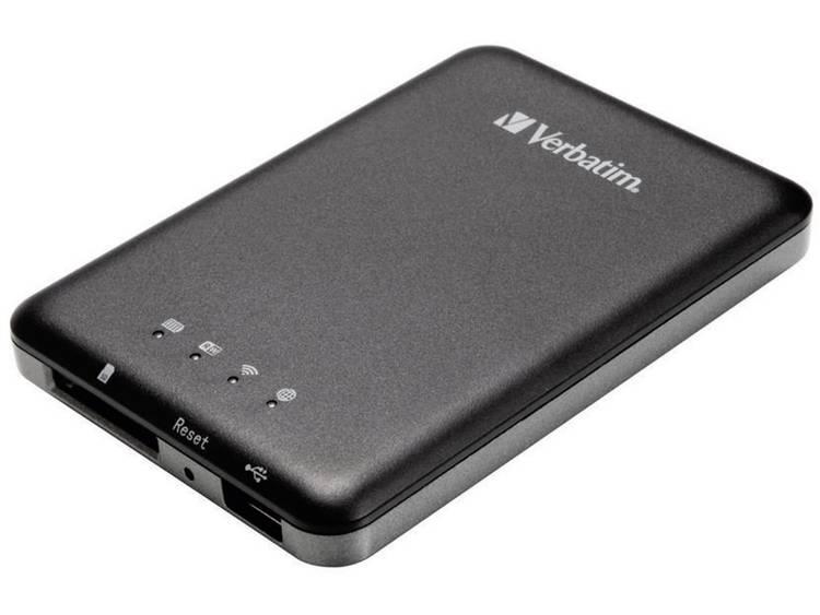 Verbatim MediaShare Wireless Storage WiFi datalezer