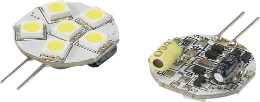 LED (één kleur)-lamp G4 Stift 1.3 W = 10 W Koudwit Renkforce 1 stuks