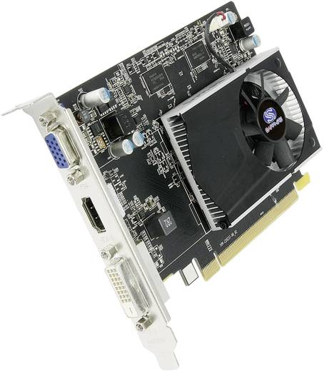 Videokaart Sapphire AMD Radeon R7 240 2 GB DDR3-RAM PCIe x16 DVI, VGA, HDMI