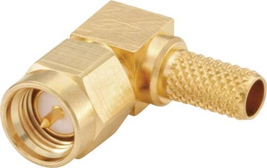 Rosenberger 32S207-306L5 SMA-connector Stekker, haaks 50 Ω 1 stuks