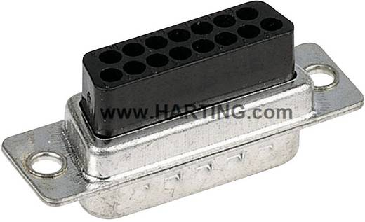 Harting 09 67 015 4701 D-SUB bus connector 180 ° Aantal polen: 15 Crimp 1 stuks