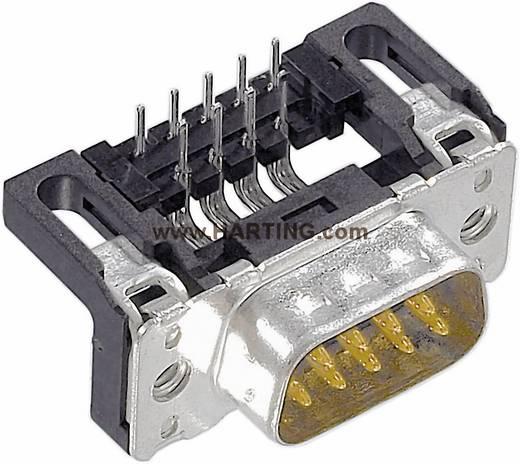 Harting 09 65 162 6812 D-SUB male connector 90 ° Aantal polen: 9 Solderen 1 stuks