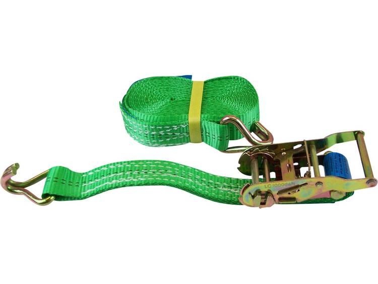 Spanband (tweedelig) Trekkracht (lc) vastbinden (enkel direct)=1000 daN (l x b) 6 m x 35 mm 60036