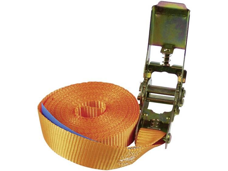 Spanband met ratel Trekkracht (max.) 500 kg Norm(en) BG GS-getest volgens EN12195-2 Afmetingen (calc