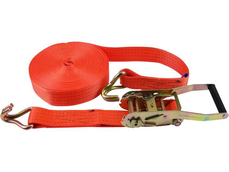 Spanband (tweedelig) Trekkracht (lc) vastbinden (enkel direct)=2000 daN (l x b) 15 m x 50 mm 60039