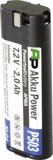 Reserve-accu APMA-7,2 V / 2,0 Ah