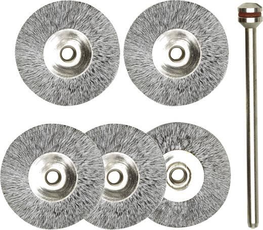 Proxxon Micromot Borstelpakket staal, 5-delig Ø 22 mm Staaldraad Schacht-Ø 2,35 mm 28 952 1 set