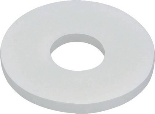 TOOLCRAFT 800281 Onderlegringen Binnendiameter: 3.2 mm M3 DIN 125 Kunststof 10 stuks