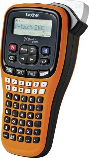Brother P-touch E100 Labelmaker Geschikt voor labels: TZe Strookbreedte: 3.5 mm, 6 mm, 9 mm, 12 mm