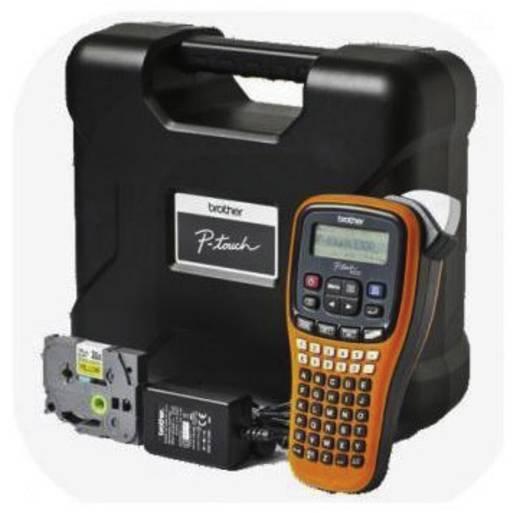 Brother P-touch E100VP Koffer-Set Labelmaker Geschikt voor labels: TZe Strookbreedte: 3.5 mm, 6 mm, 9 mm, 12 mm