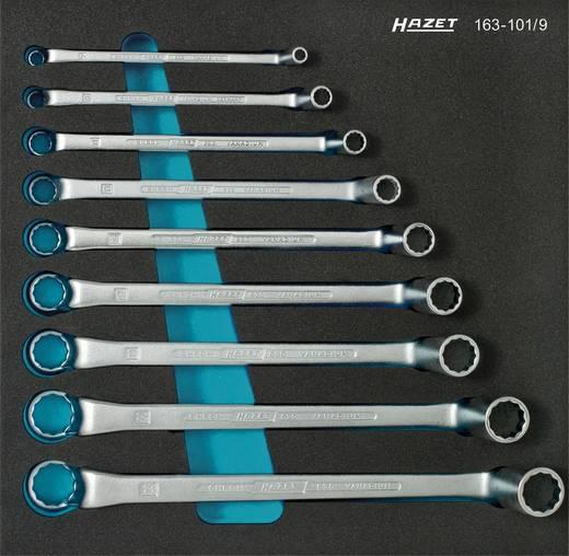 Dubbele ringsleutelset 9-delig 6 - 23 mm DIN 838, ISO 10104 Hazet 163-101/9