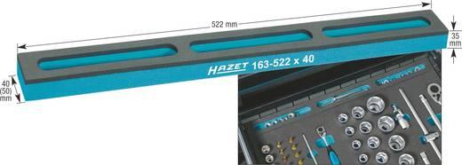 Hazet Zacht schuim insert met vakken voor kleine onderdelen 163-522X40