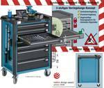 Gereedschap-, materiaal- en montagewagen